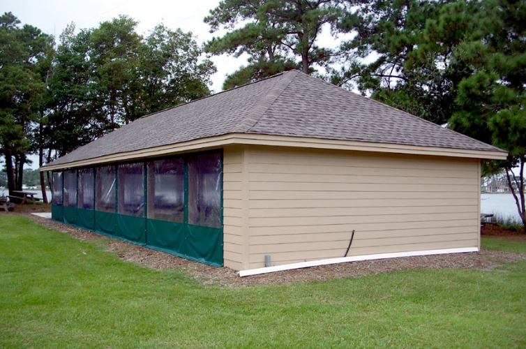 Custom Pavilion Enclosure 6