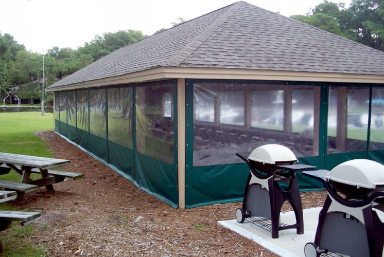 Custom Pavilion Enclosure 1