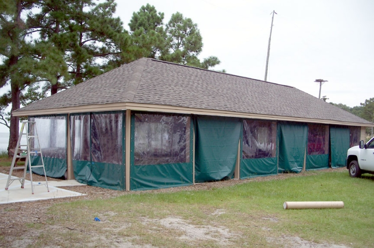 Custom Pavilion Enclosure 3