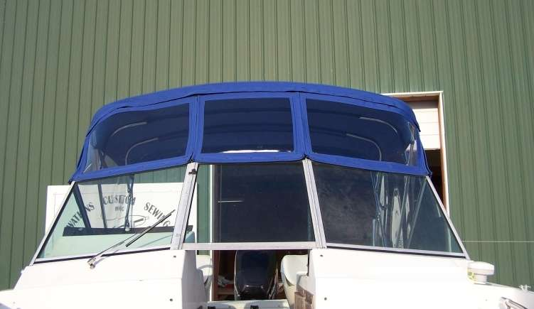 Watkins Custom Sewing Outer Banks Bimini Boat Top Enclosure 7