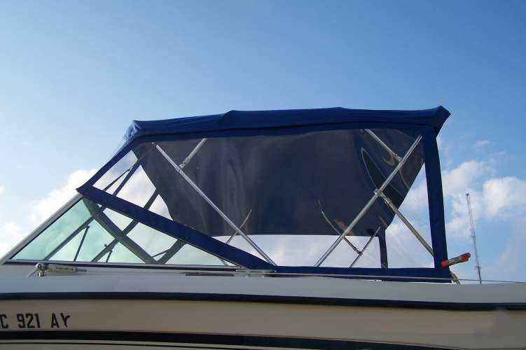 Watkins Custom Sewing Outer Banks Bimini Boat Top Enclosure 8