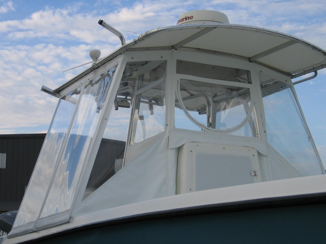 Center Console Boat Enclosure Watkins Custom Sewing Outer