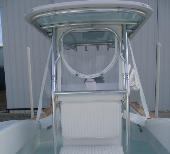 Watkins Custom Sewing Outer Banks Boat Center Console Enclosure Windows Curtains 7