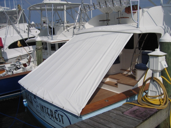 Custom Fit Marine Canvas Boat Covers Watkins Custom Sewing