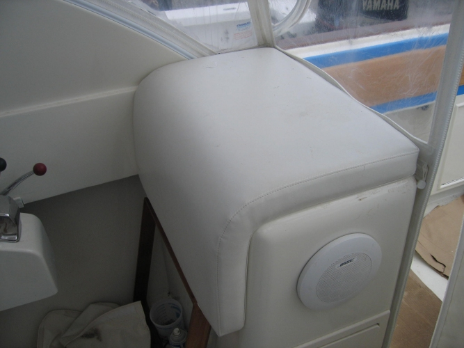 Watkins Custom Sewing Outer Banks NC marine boat yacht exterior cushions seating padding fighting chairs 17