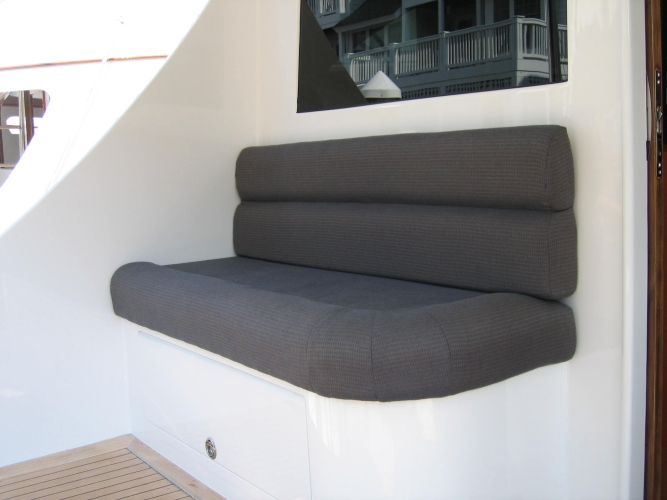 Watkins Custom Sewing Outer Banks NC marine boat yacht exterior cushions seating padding fighting chairs 18