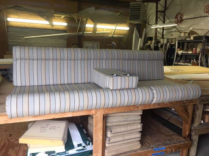 Custom Boat Yacht Cushions Outer Banks