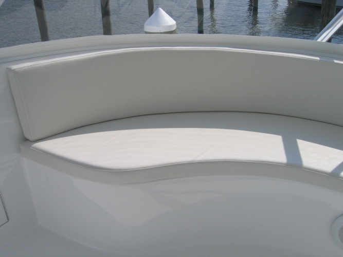 Watkins Custom Sewing Outer Banks NC marine boat yacht exterior cushions seating padding fighting chairs 8