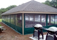 Custom Awnings and Zippered Porch Enclosures
