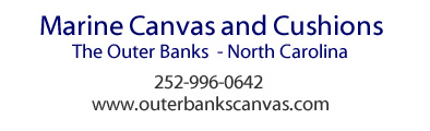 Watkins Custom Sewing Inc - Outer Banks Wanchese, NC canvas boat covers upholstery cushions awnings